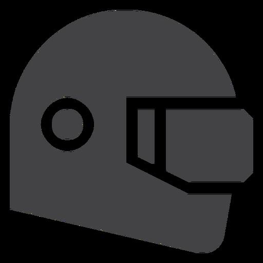 Racing Helmet Flat Icon