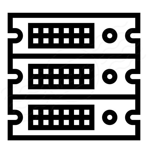 Iconexperience I Collection Rack Servers Icon