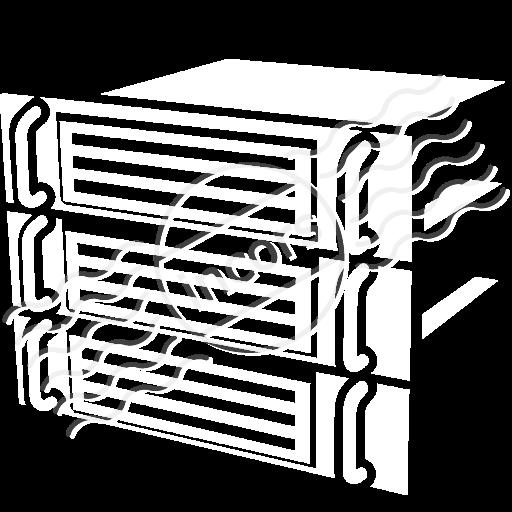 Iconexperience M Collection Rack Servers Icon