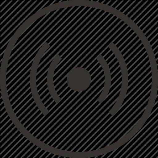 Audio, Coverage, Network, Radio, Icon
