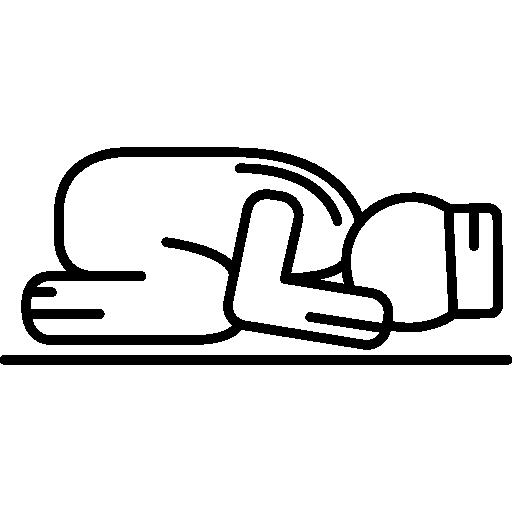 Sujud Posture Icons Free Download
