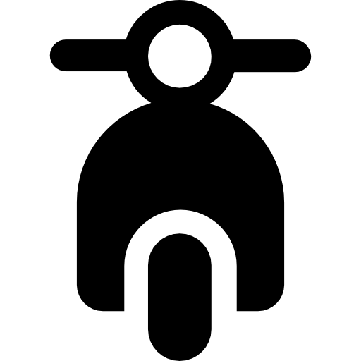 Scooter Front View Icons Free Download