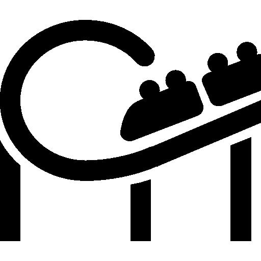 City Roller Coaster Icon Windows Iconset