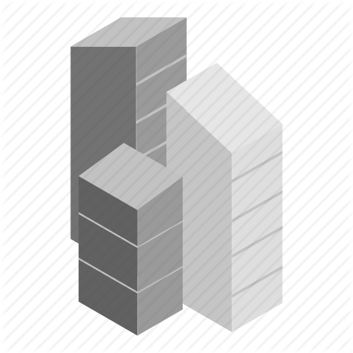 Architecture, Building, House, Isometric, Office, Skyscraper, Town