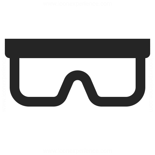 Safety Glasses Icon Iconexperience