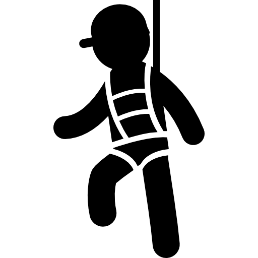 Safety Harness Icons