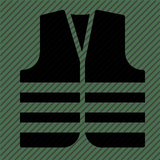Reflective Safety Vest Icon