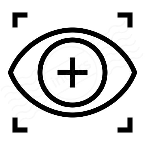 Iconexperience I Collection Eye Scan Icon
