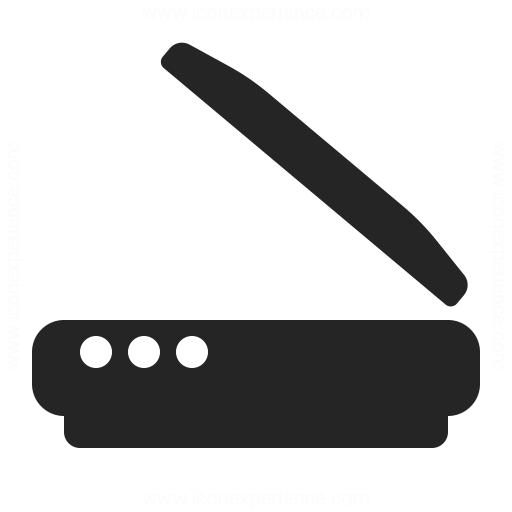 Scanner Icon Iconexperience