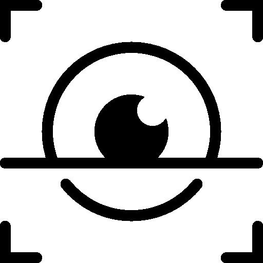 User Interface Iris Scan Icon Ios Iconset