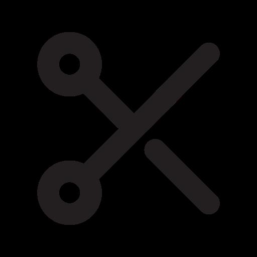 Scissors, Outline Icon Free Of Eva Outline Icons
