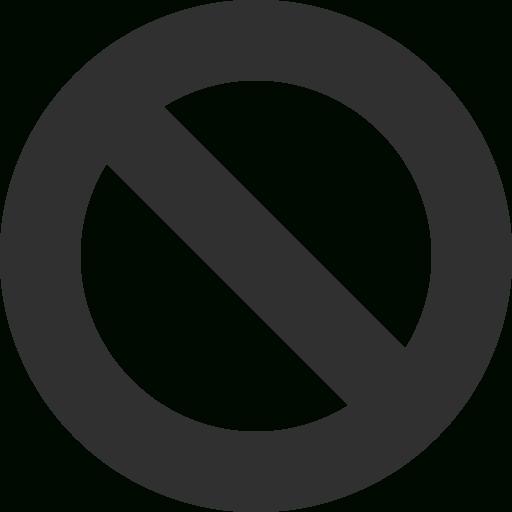 Cancel Icon Mono General Iconset Custom Icon Design