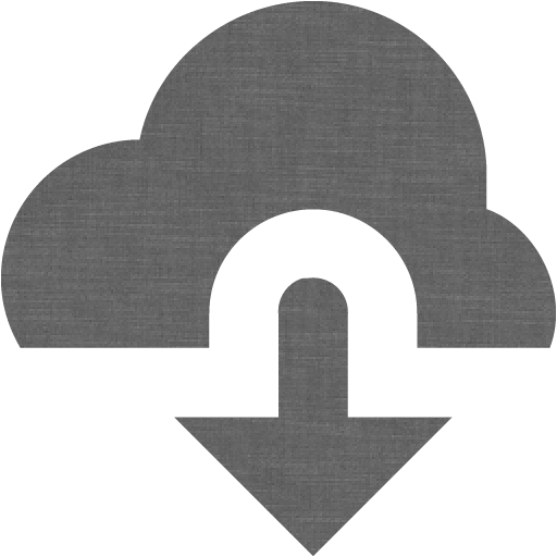 Grey Wall Cloud Download Icon
