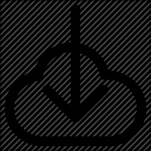 Cloud, Download, Icloud, Iconset, Save, Set, Web Design Icon