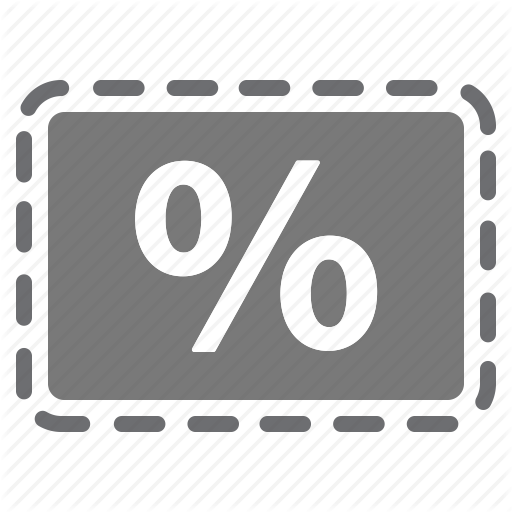 Coupon, Deal, Discount, Grey, Offer, Percentage, Sale Icon