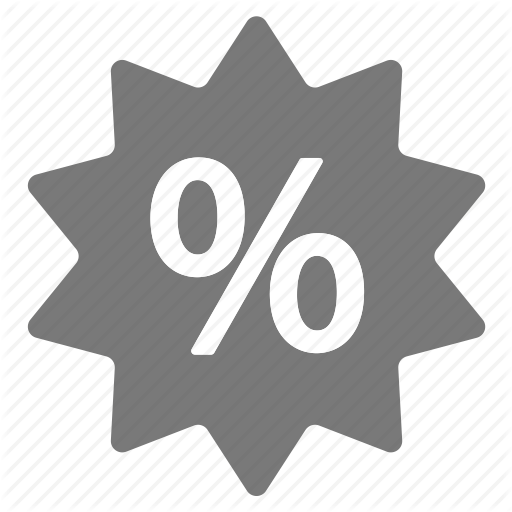 Amazing, Deal, Discount, Grey, Offer, Percentage, Sale Icon