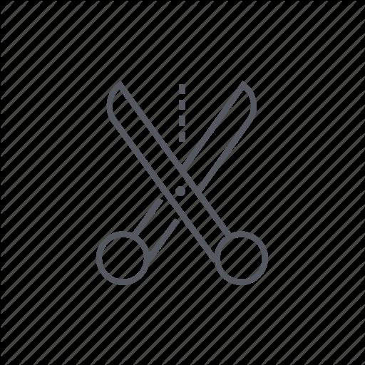 Cutting, Scissors, Shears, Snip Icon