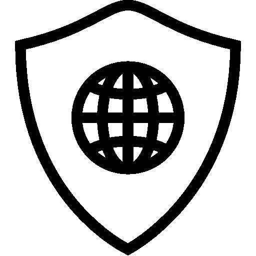 Network Web Shield Icon Ios Iconset