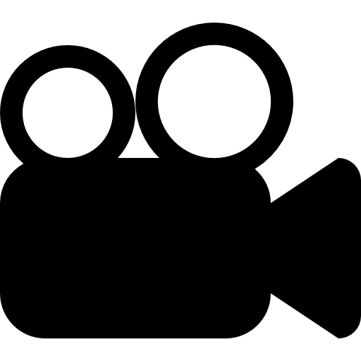 Movie Symbol Of Video Camera Icons Free Download