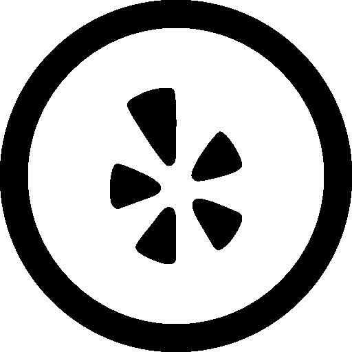 Yelp Circle Logo Png Images