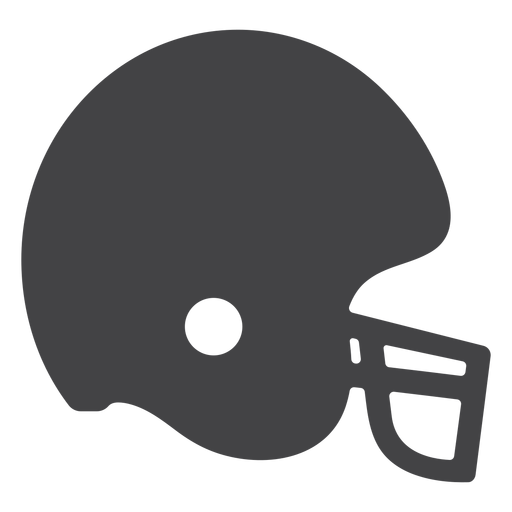 American Football Helm Flat Icon