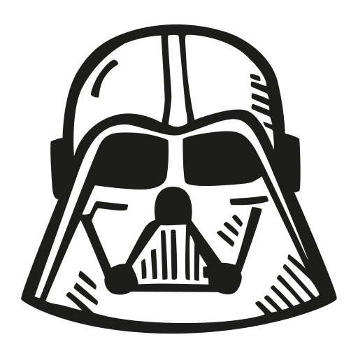 Darth, Vader Icon Free Of Space