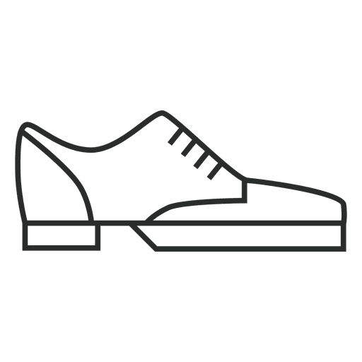Stroke Shoes Sneakers Icon