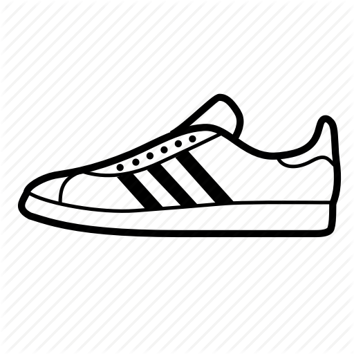Adidas, Gazelle, Shoes, Sneakers, Trainers Icon