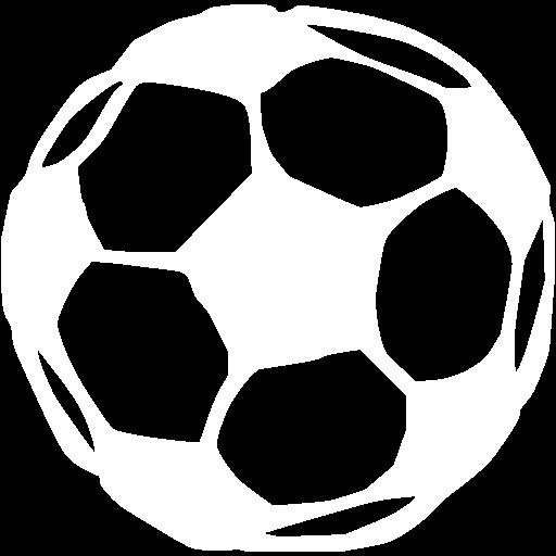 White Soccer Icon
