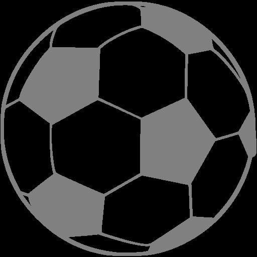 Gray Soccer Icon