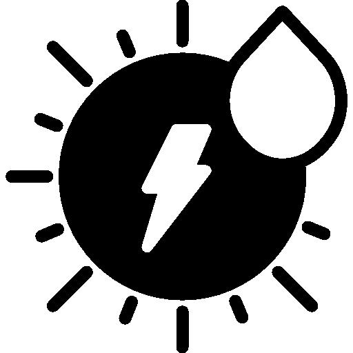 Solar Energy Icon Ecology Smashicons