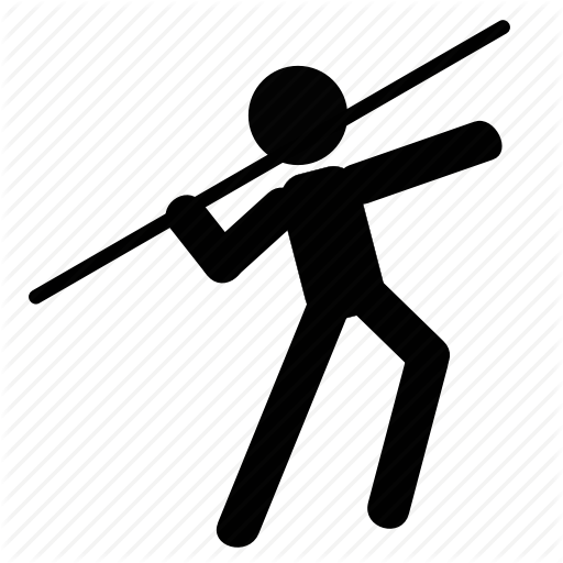 Athletic, Javelin, Olympics, Player, Spear, Sport, Throw Icon