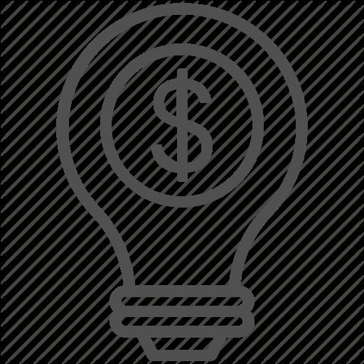 Bulb, Business Idea, Creative Idea, Innovative Idea, Invention Icon