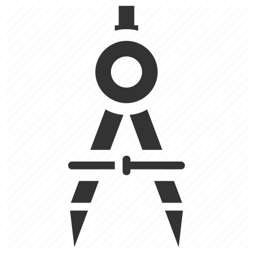 Compass, Divider, Drawing, Geometrical Compass, Geometry Tool Icon