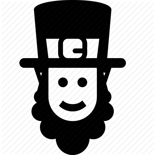 Beard, Hat, Irish, Jew, Leprechaun, Patrick, St Patricks Day Icon