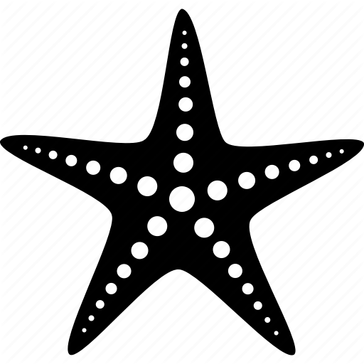 Echinoderm, Fish, Life, Marine, Sea, Star, Starfish Icon