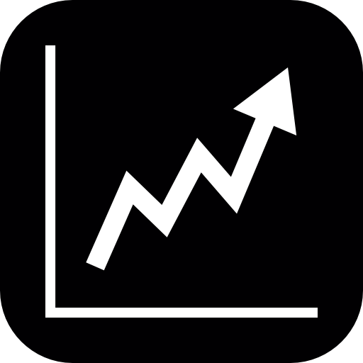 Stocks Ascendant Graphic Icons Free Download