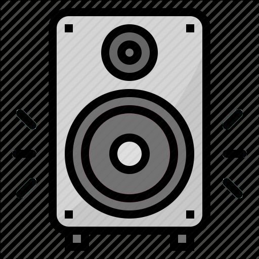 Bass, Sound, Speaker, Subwoofer Icon