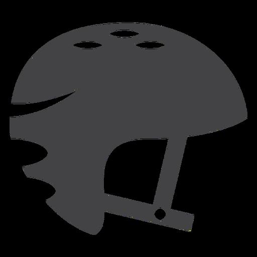 Skate Helmet Flat Icon