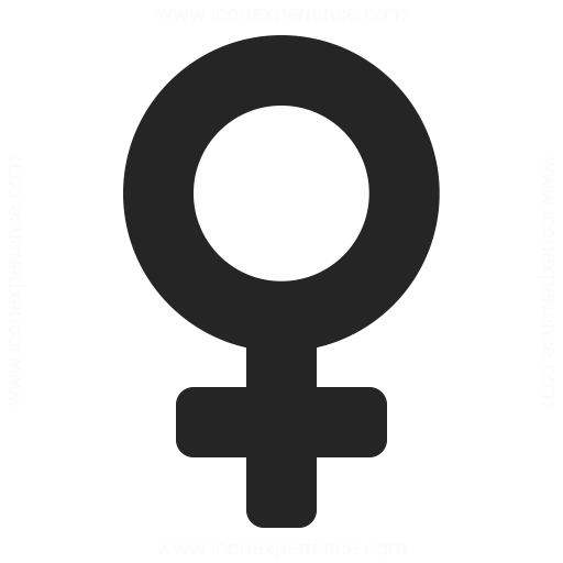 Symbol Female Icon Iconexperience
