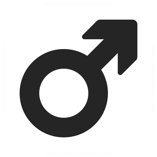 Symbol Male Icon Iconexperience