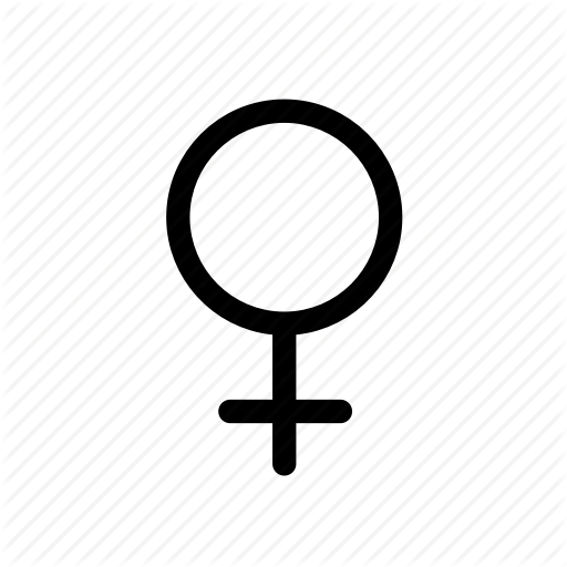 Female, Gender, Gender Symbol, Sex, Women Icon