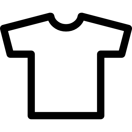 T Shirt Outline Icons Free Download