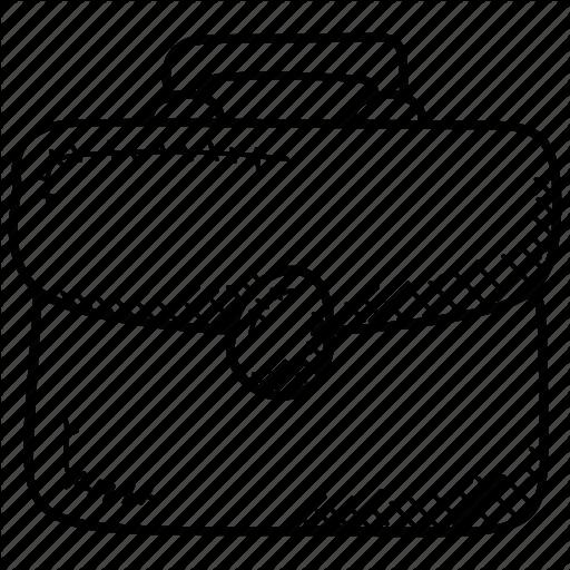 Briefcase, Business Case Folio Case, Portfolio, Tablet Case Icon