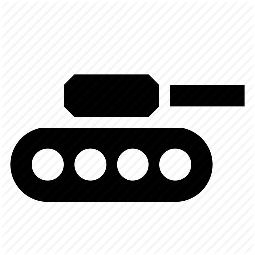 Army, Battle, Tank, Transportation, Vehicle, War Icon