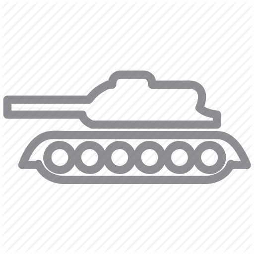 Destroy, Military, Tank, Truck, War, Weapon Icon