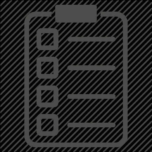 Check List, Checklist, Document, Exam, Invoice, Report, Tasks Icon