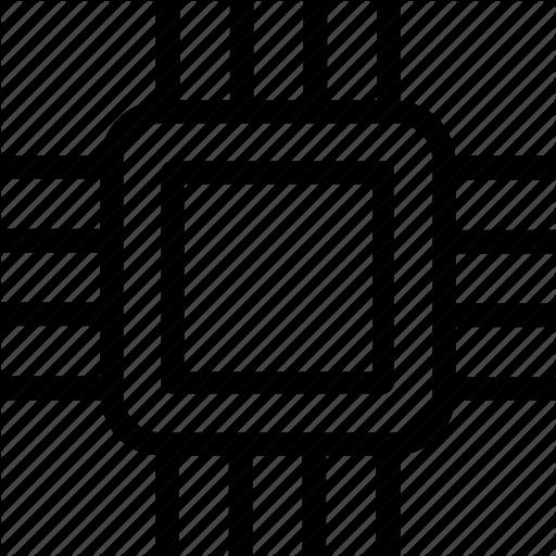 Core, Pc, Processor, Ram Icon, Tech Icon