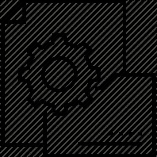 Cogwheel, Data Process, Data Technology, Process, Technology Icon