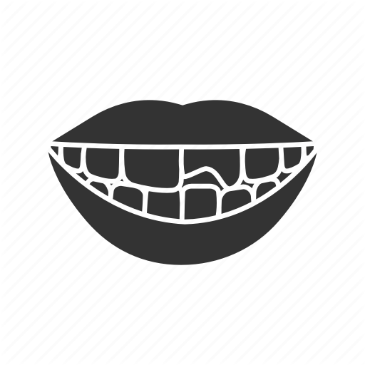Broken, Chipped, Mouth, Smile, Teeth, Tooth, Treatment Icon
